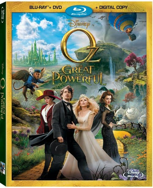 Oz The Great And Powerful Bluray DVD