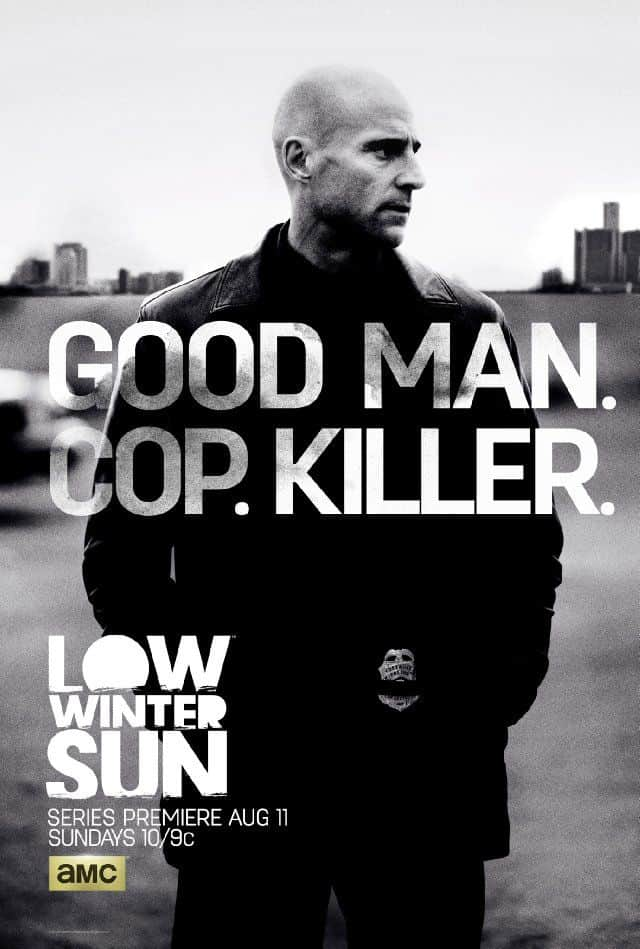 Low Winter Sun Poster AMC