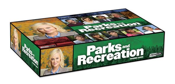 PARKS AND RECREATION Trading Cards