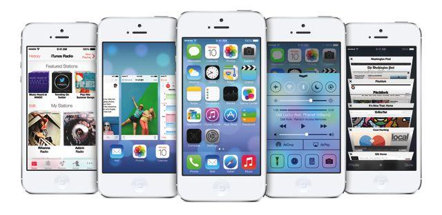 iphone 5 ios 7