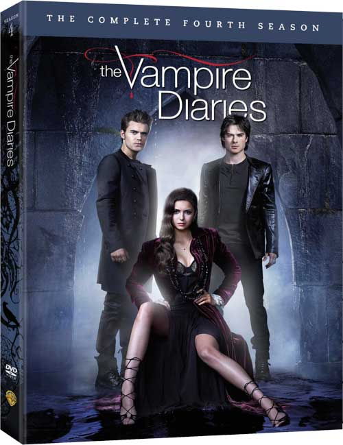 THE VAMPIRE DIARIES Season 4 DVD