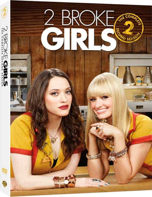 2 BROKE GIRLS Season 2 DVD