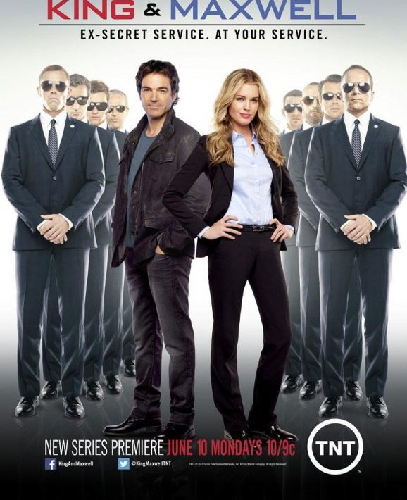 King And Maxwell Season 1 Poster TNT