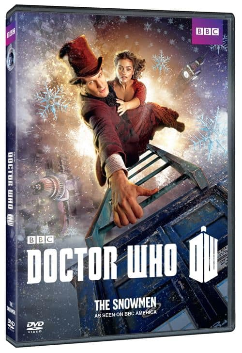 DOCTOR WHO THE SNOWMEN DVD