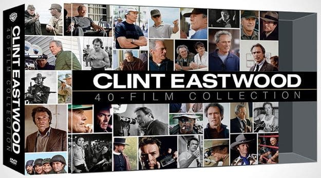Clint Eastwood 40 Film Collection DVD
