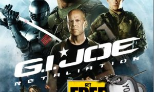 GI JOE RETALIATION Bluray DVD