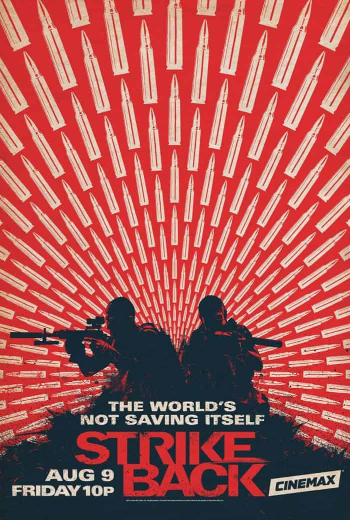 Strike Back Season 3 Poster Cinemax