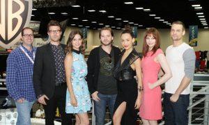 NIKITA Comic Con Craig Silverstein and stars Noah Bean, Lyndsy Fonseca, Aaron Stanford, Maggie Q, Melinda Clarke and Shane West