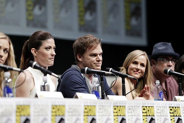 The Cast members of Dexter at the Dexter Panel at COMIC - CON 2013, held in San Diego, Ca.