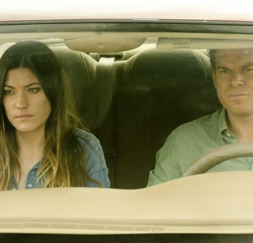 Jennifer Carpenter as Debra Morgan and Michael C. Hall as Dexter Morgan in Dexter