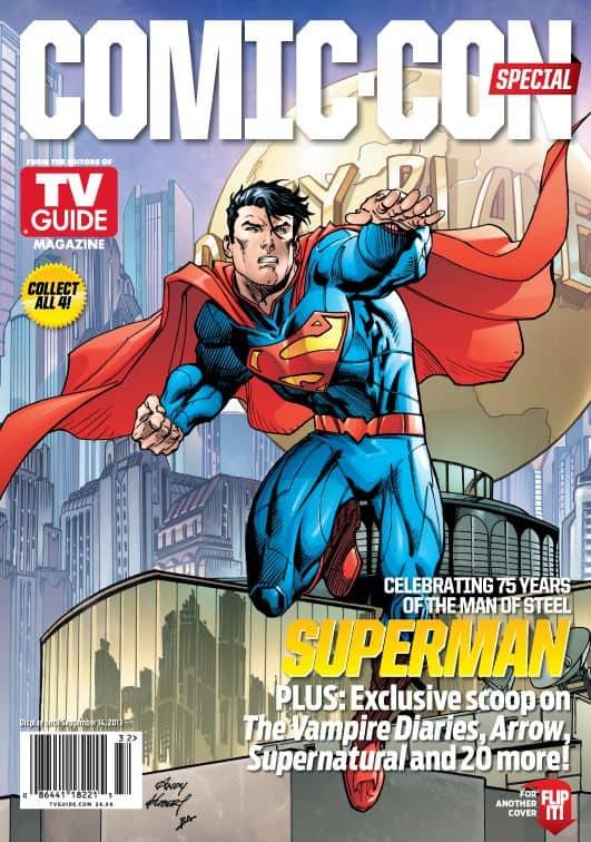 Warner Bros Tv Guide Comic Con Covers Seat42f
