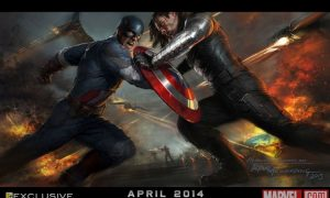 CAPTAIN AMERICA THE WINTER SOLDIER Comic Con Poster