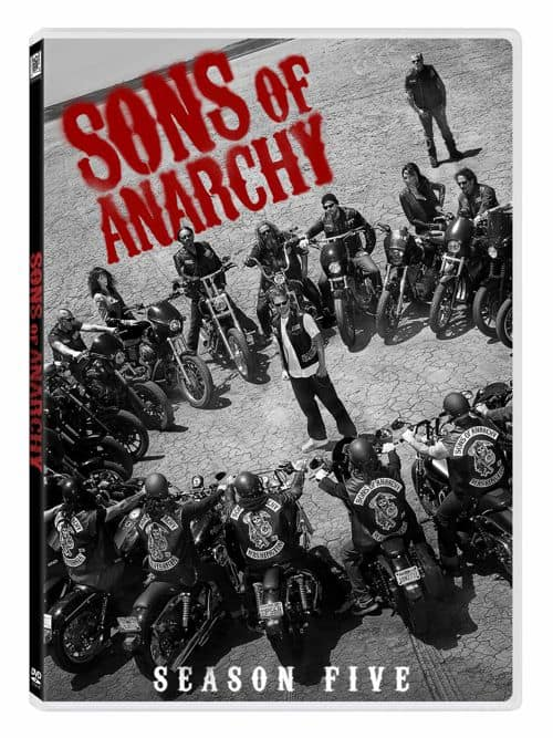 Sons Of Anarchy Season 5 DVD