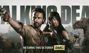 The Walking Dead Comic Con Poster 2013