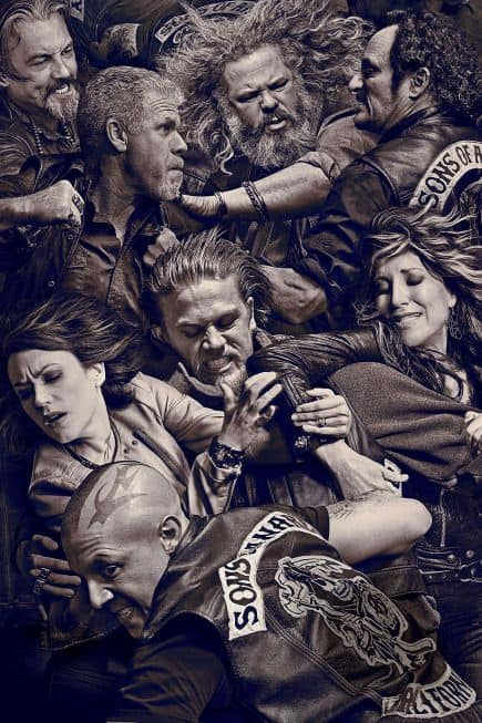 SONS OF ANARCHY -- Pictured: Key Art