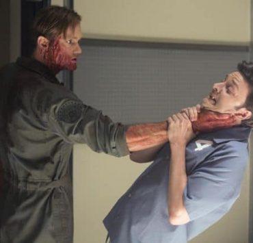 TRUE BLOOD Season 6 Episode 9 Life Matters Alexander Skarsgård, Michael McMillian