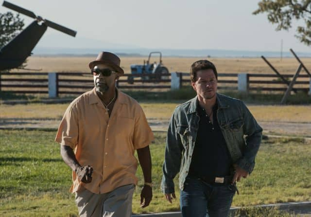 2 Guns DENZEL WASHINGTON and MARK WAHLBERG