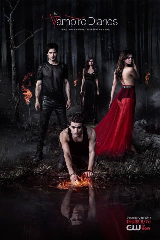 THE VAMPIRE DIARIES Season 5 Posters