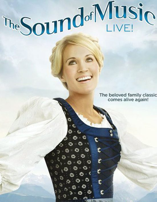 Carrie Underwood THE SOUND OF MUSIC Live Poster