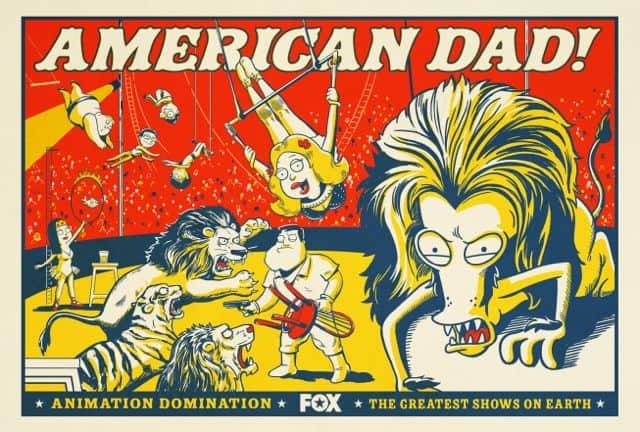 American Dad Poster Season 10