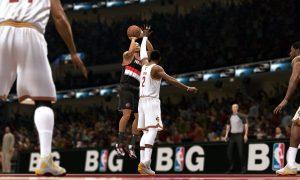 First Screenshot of NBA LIVE 14