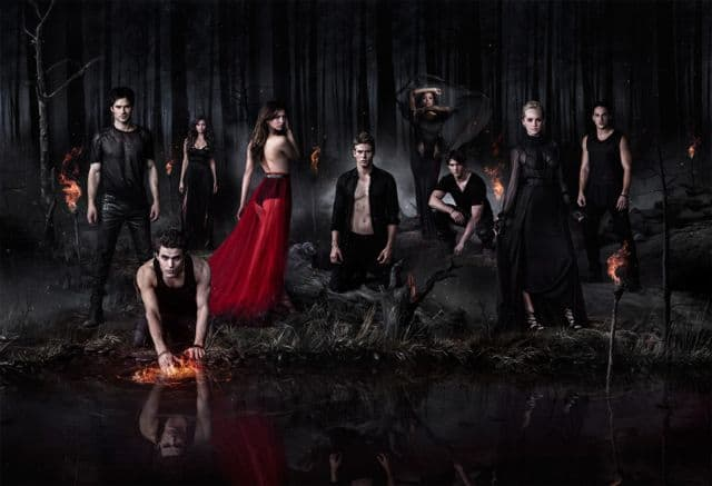 Ian Somerhalder as Damon, Paul Wesley as Stefan/Silas, Nina Dobrev as Katherine, Nina Dobrev as Elena, Zach Roerig as Matt, Kat Graham as Bonnie, Steven R. McQueen as Jeremy, Candice Accola as Caroline, and Michael Trevino as Tyler