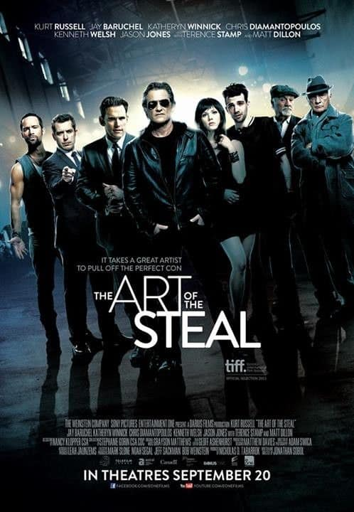 The Art Of The Steal Movie Poster