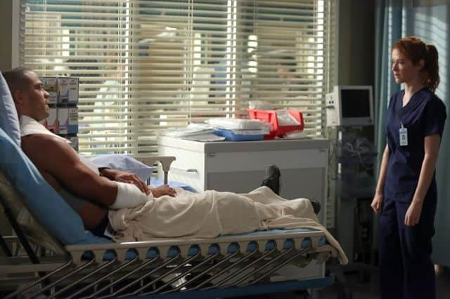 GREY\'S ANATOMY Season 10 Episode 1 Seal Our Fate Photos   SEAT42F