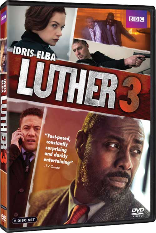 Luther Season 3 DVD