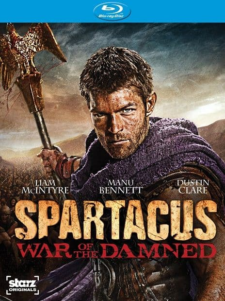 Spartacus War Of The Damned Bluray