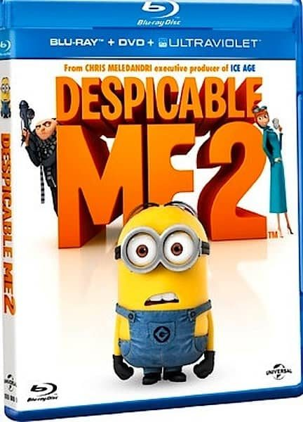 Despicable Me 2 Bluray DVD