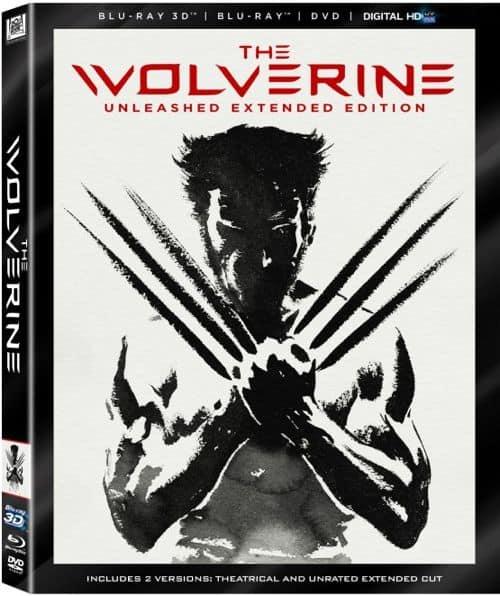 The Wolverine Bluray 3d DVD