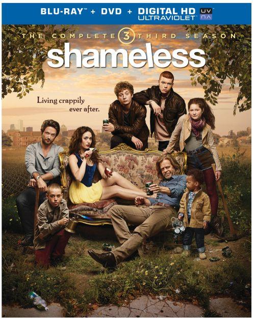 Shameless Season 3 Bluray DVD