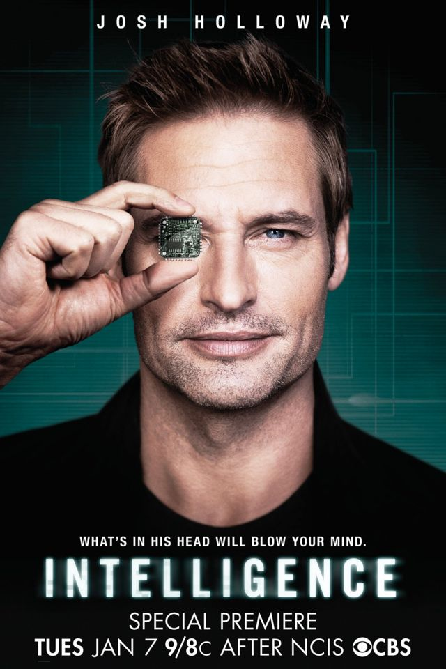 Intelligence Poster CBS Josh Holloway