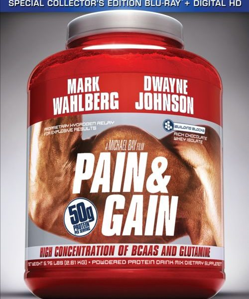 Pain And Gain Special Collectors Edition Bluray