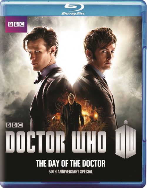 Doctor Who Day of the Doctor Bluray