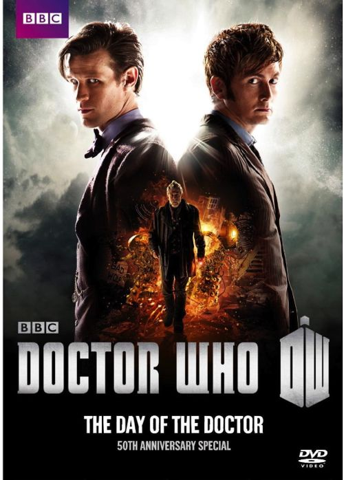 Doctor Who Day of the Doctor DVD