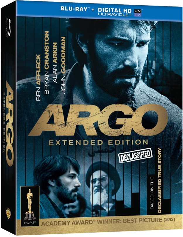 Argo Extended Edition Bluray