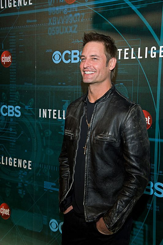 Josh Holloway attends CNET's premiere Party for the new CBS Drama series Intelligence