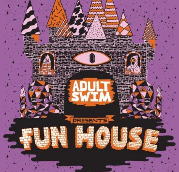 Adult Swin Fun House Postcard
