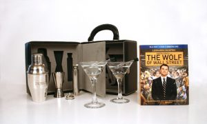 The Wolf Of Wall Street Happy Hour Martini Set