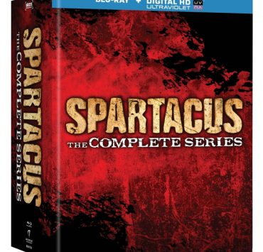 Spartacus The Complete Series Bluray