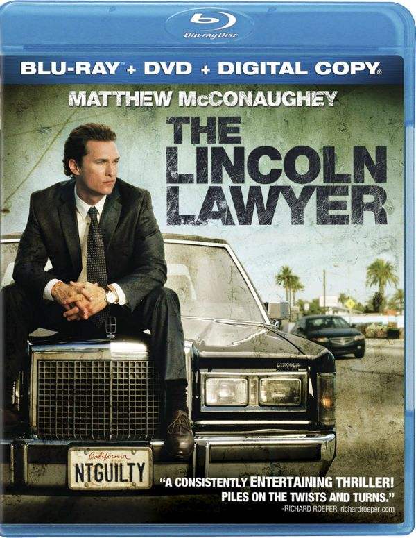The Lincoln Lawyer Bluray