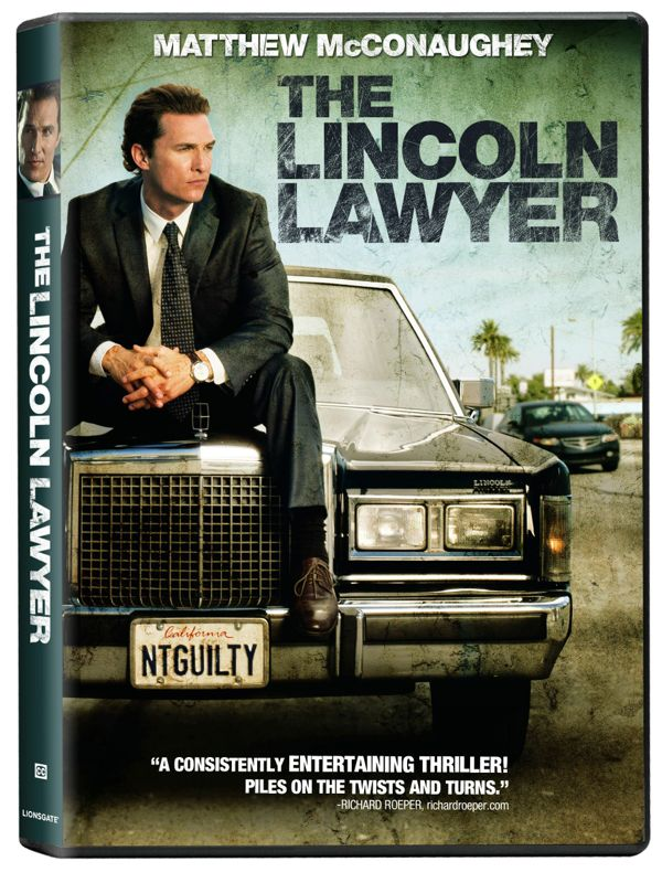 The Lincoln Lawyer DVD 3D