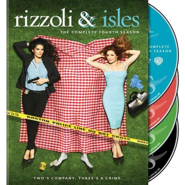 Rizzoli And Isles Season 4 DVD