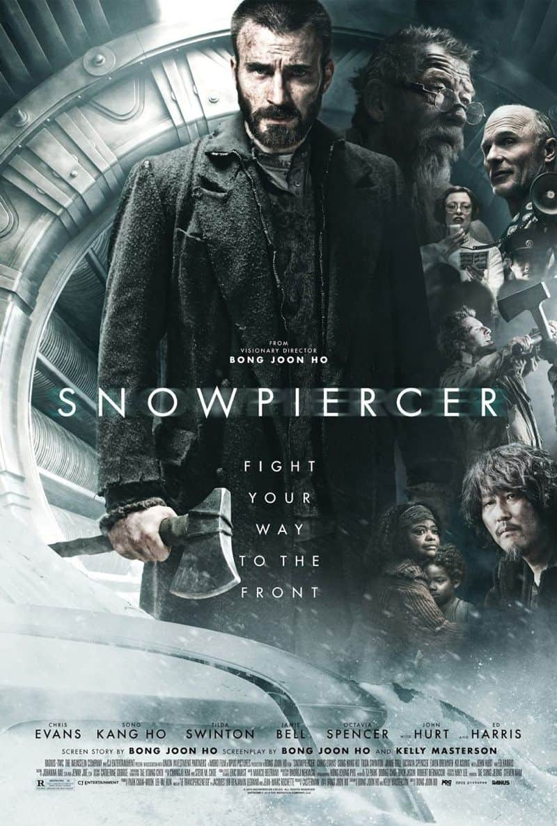Snowpiercer Movie Poster Chris Evans