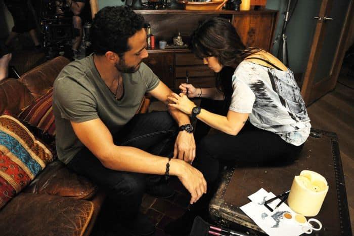 Graceland Season 2 Daniel Sunjata as Paul Briggs, Vanessa Ferlito as Charlie DeMarco