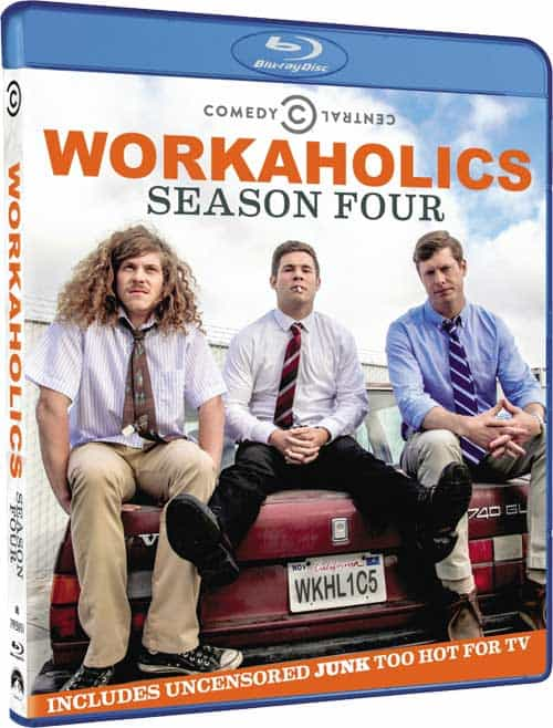 Workaholics Season 4 Bluray
