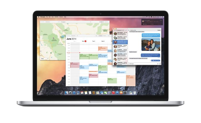 OSX Yosemite Apple Macbook Pro