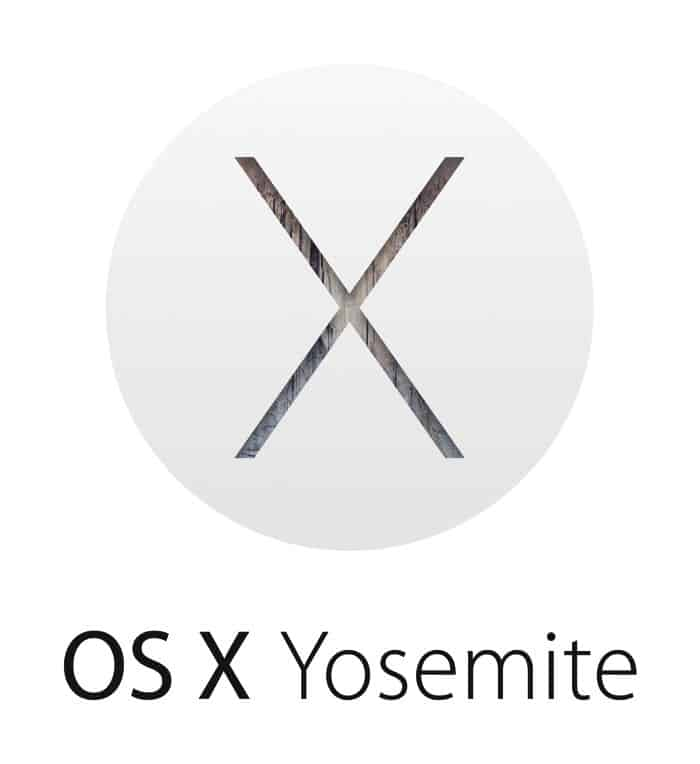 OSX Yosemite Logo Apple
